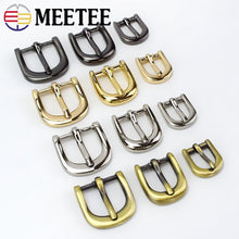 Load image into Gallery viewer, 4/10pc Meetee Handbag Shoes Strap Belt Metal Pin Buckles 11/15/20mm Slider Web Adjuster DIY Leather Craft Repair Accessory F3-25