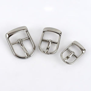 Meetee 5/10pcs 13/16/20/25mm Metal Pin Belt Buckles Adjuster Bags Strap Slider Shoes Buckle DIY Leather Hardware Accessories