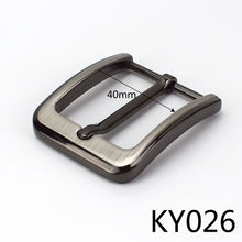 将图片加载到图库查看器,Meetee 2/5pcs Metal Pin Belt Buckles for Mens Women 35/40mm Waistband Head DIY Leather Crafts Jeans Decor Hardware Accessories