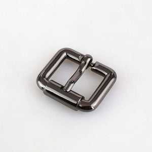 20/50pcs 20mm Meetee Square Metal Pin Belt Buckles Bags Luggage Strap Belt Roller Pin Fasteners DIY Hardware Accessories F3-22