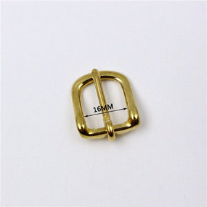 2PCS Meetee New Solid Brass Belt Buckle Copper Men Pin Buckles DIY Mens Womens Jeans Luggage Hardware Accessories AP011
