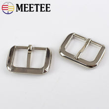 将图片加载到图库查看器,Meetee 5/10Pcs 25mm Bags Strap Adjuster Buckles Metal Pin Buckle for Handbags Belt DIY Sewing Hardware Accessories BF101