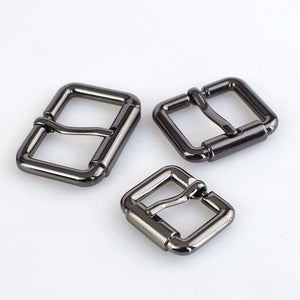 4/8pcs 20/25/32/38MM Pin Belt Buckle Metal Handbags Bags Hardware Strap Adjust Hook Buckle DIY Sew Crafts Accessories F3-22