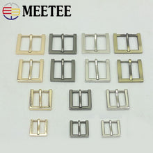 将图片加载到图库查看器,5pcs Meetee 13/16/20/25mm Metal Buckles for Bag Handbag Shoes Strap Belt Pin Buckle Webbing Snap Hooks DIY Leather Crafts BF344