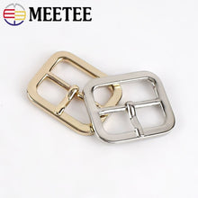 Load image into Gallery viewer, 5/10/20pcs 25mm Metal Pin Buckle for Bag Shoes Strap Belt Adjust Handbag Webbing Buckles Snap Clasp DIY Leather Craft