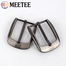 将图片加载到图库查看器,Meetee 2/5pcs Fashion Men Belt Buckles Metal Pin Buckle for 32-33mm Belts Head DIY Leather Craft Hardware Jeans Accessory YK170