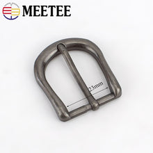将图片加载到图库查看器,2/5pcs 23mm Retro Silver Metal Pin Belt Buckles for Men Women Belts Head DIY Bags Clothing Hardware Decor Accessories ZK898