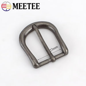 2/5pcs 23mm Retro Silver Metal Pin Belt Buckles for Men Women Belts Head DIY Bags Clothing Hardware Decor Accessories ZK898