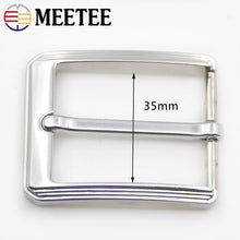 Load image into Gallery viewer, 2/5pcs Fashion Men Belt Buckles Metal Pin Buckle for 32-34mm Belts Head DIY Leather Craft Hardware Jeans Accessories YK175