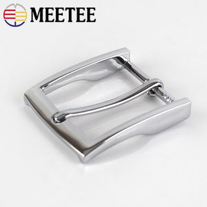 2/10pcs Men Belt Pin Buckle Metal Buckles for Belts 33-34mm Waistband Head DIY Leather Craft Jeans Decoration Accessories KY916