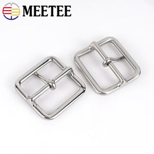 1pc Stainless Steel Belt Buckle Men Women Metal Pin Buckles for Belts 37-38mm DIY Leather Crafts Accessories YK182