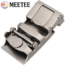 Load image into Gallery viewer, Fashion Men Metal Belt Buckles Zinc Alloy Automatic Buckle For Belts 33-34mm DIY Leathercraft Hardware Jeans Accessories