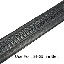 Load image into Gallery viewer, 1Pc Meetee Business Men Metal Buckles For Belts 34-35mm Belt Automatic Buckle Boucle De Ceinture DIY Leather Crafts