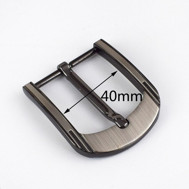 2Pcs Belt Buckles for Men Metal Pin Buckle Fashion Jeans Boucle De Ceinture For Belts 38-39mm DIY Leather Craft KY827