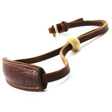 将图片加载到图库查看器,8 Extra Width Genuine Leather Dog Collar Slip Chain Adjustable Pet Training Choke Growing Collar Heavy Duty for Pitbull Greyhound