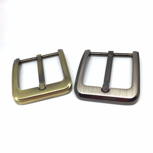 2pc DIY Leather Craft Hardware 40mm Pin Buckle Belt Buckle Brushed Metal Fashion Mens Womens Jeans Accessories Cosplay For 3.8cm