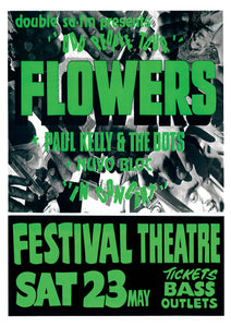 Flowers (Icehouse) Official Poster Collection *SOLD OUT*