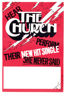 The Church Official Poster Collection *only 2 packs left!
