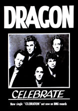 Load image into Gallery viewer, 'Celebration' Record Company Single Promo 1989. Black & White Print