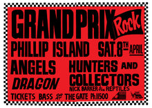 Load image into Gallery viewer, Grand Prix Rock 1989. Full Colour Print
