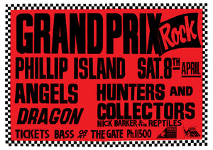 Grand Prix Rock 1989. Full Colour Print