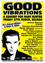 Load image into Gallery viewer, Good Vibrations - A Concert for Marc Hunter 1998. Full Colour Print