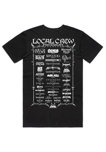 Local Crew Shirt - Back of Shirt
