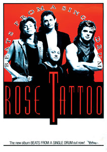 Rose Tattoo Official Poster Collection *only 1 pack left!*