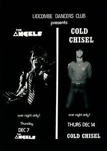 6. Lidcombe Dancers Club Presents The Angels Thursday 7th December 1978
