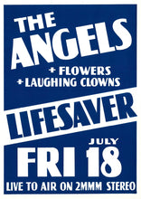 Load image into Gallery viewer, 8. The Angels / Flowers / Laughing Clowns @ Lifesaver Friday 18th July 1979
