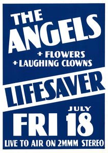 8. The Angels / Flowers / Laughing Clowns @ Lifesaver Friday 18th July 1979