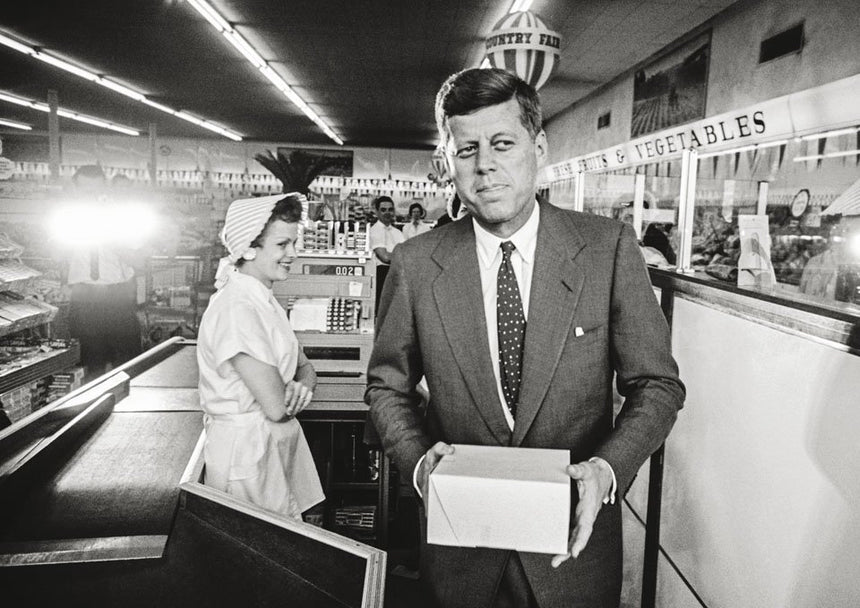 JOHN F. KENNEDY: Superman Comes to the Supermarket