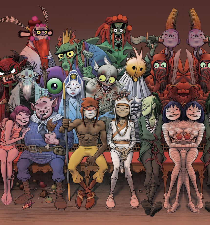 Jamie Hewlett – 40th Anniversary Edition
