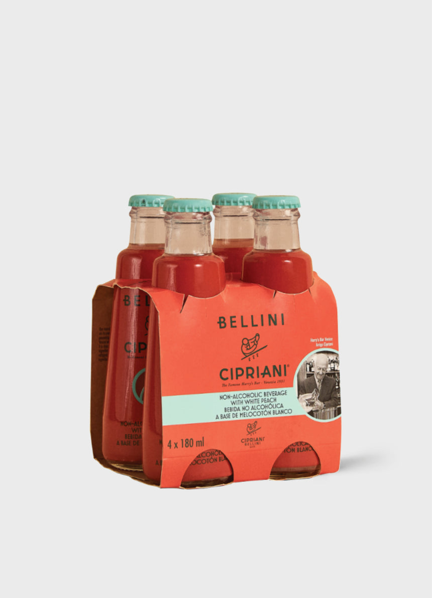 Alcohol-Free Bellini Cipriani - 4 pack - 4x180ml