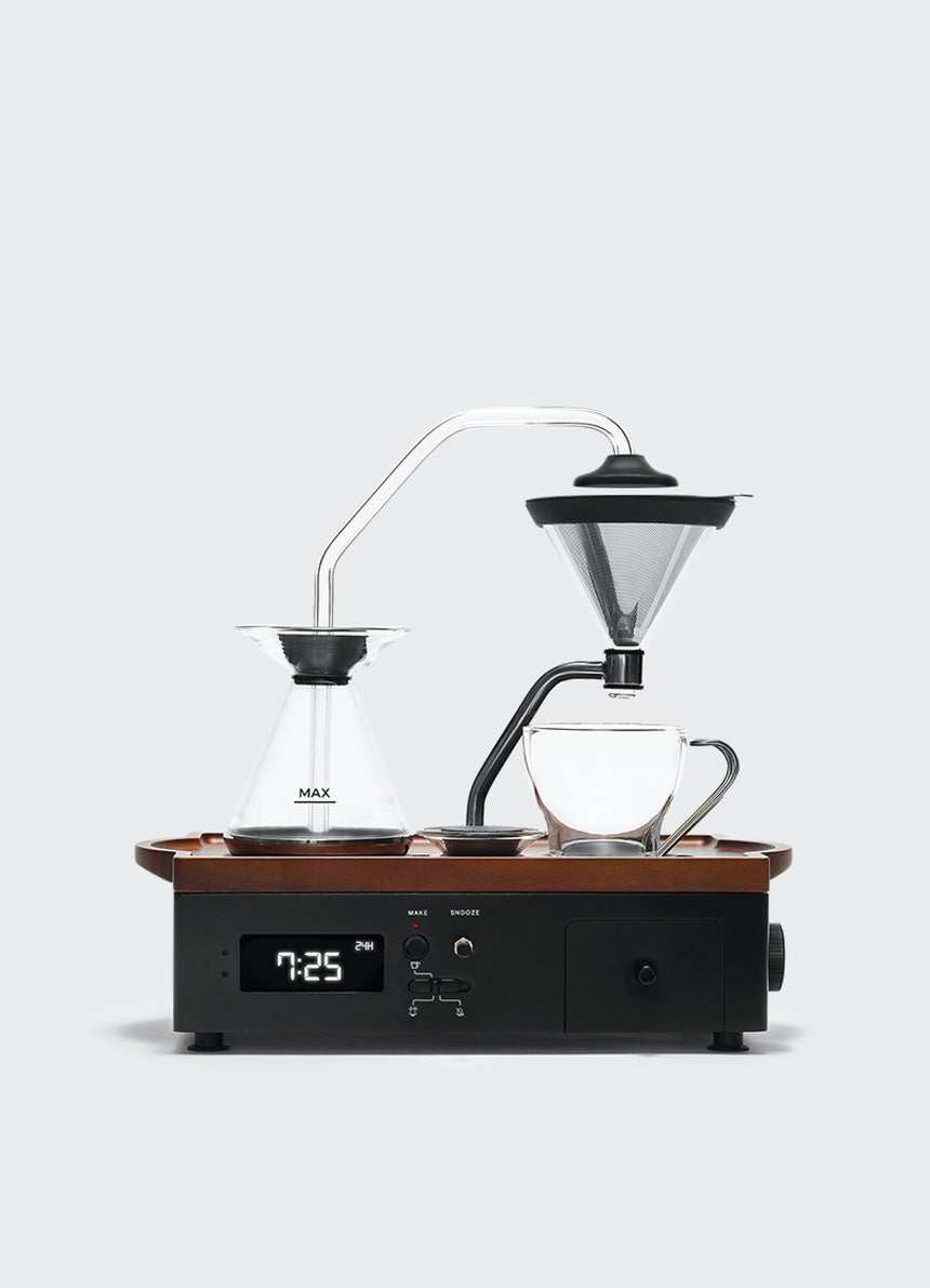 Barisieur Coffee Alarm Clock Black