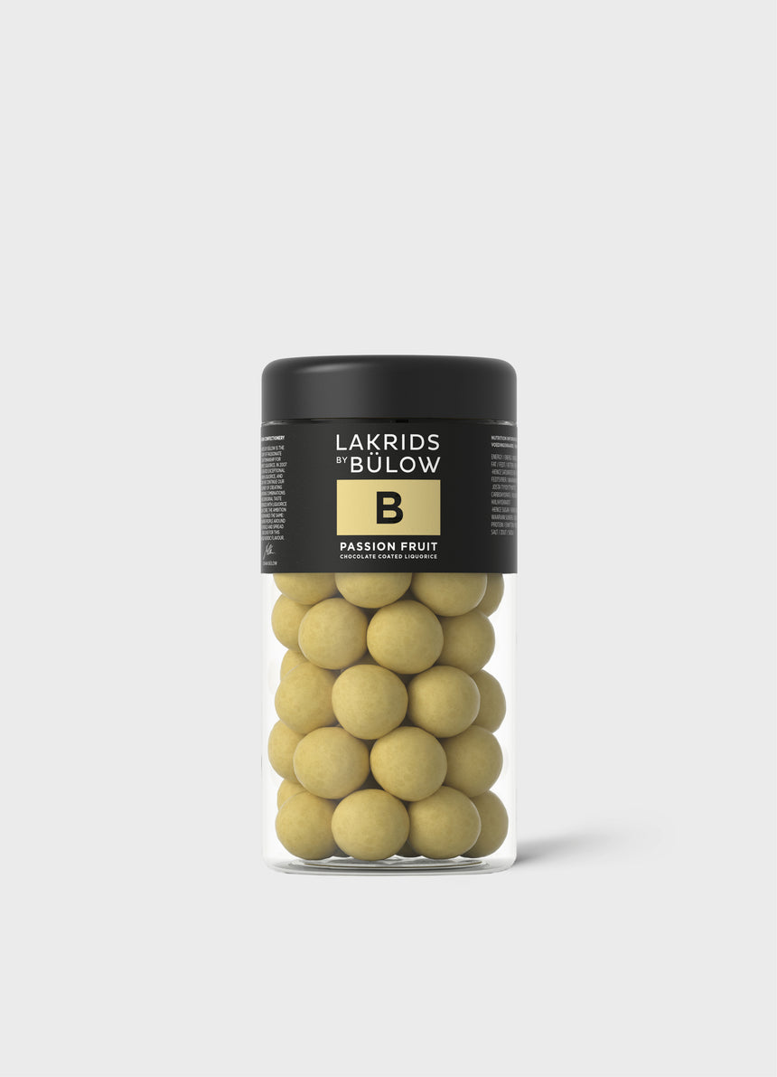 Passion Fruit Chocolate Coated Liquorice