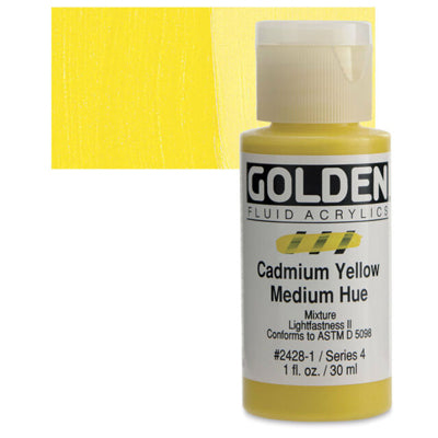 Golden Fluid Acrylics - 30ml bottles