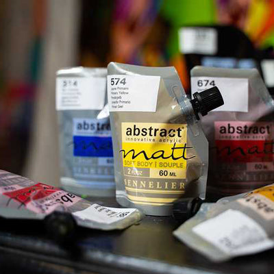Sennelier Abstract Acrylic Paints - Matt