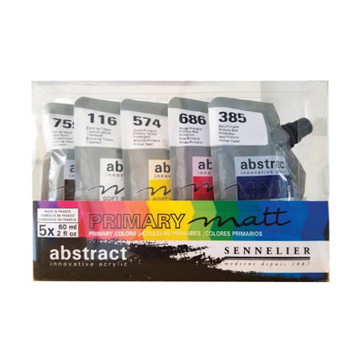 Sennelier Abstract Acrylics - Matt - set of 5