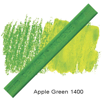 Derwent Inktense Blocks Apple Green 1400
