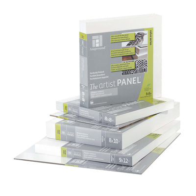 Ampersand's Primed Smooth cradled panels are excellent for painting in oils, acrylics, watermedia and also for drawing.