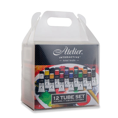 Atelier Interactive Acrylics - set of 12 x 20ml tubes