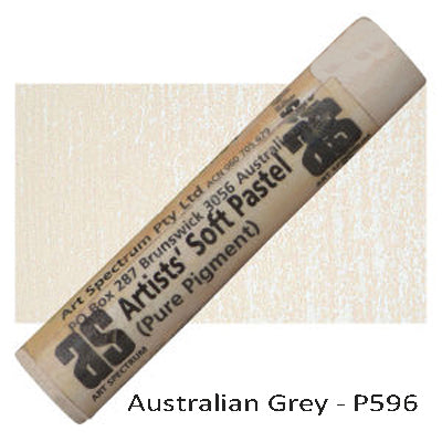 Art Spectrum Soft Pastels Australian Gray P596