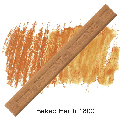 Derwent Inktense Blocks Baked Earth 1800