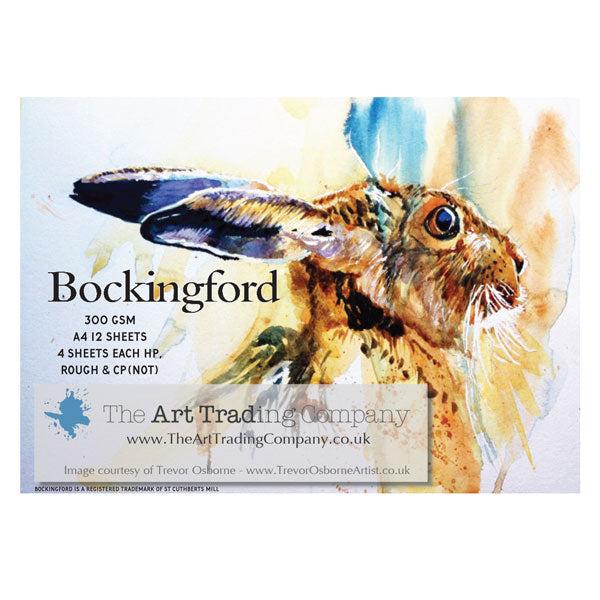 Bockingford glued pad - 300g - Mixed surfaces