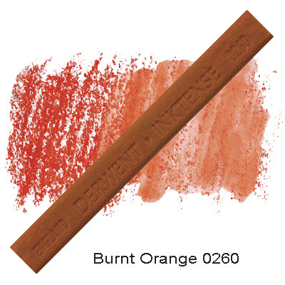 Derwent Inktense Blocks Burnt Orange 0260