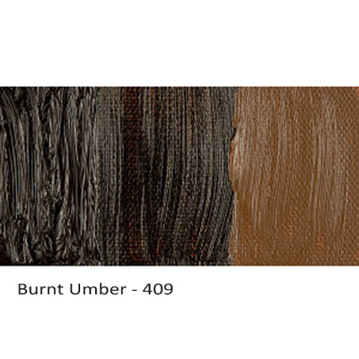 Cobra Water-mixable Oil Paint Burnt Umber 409