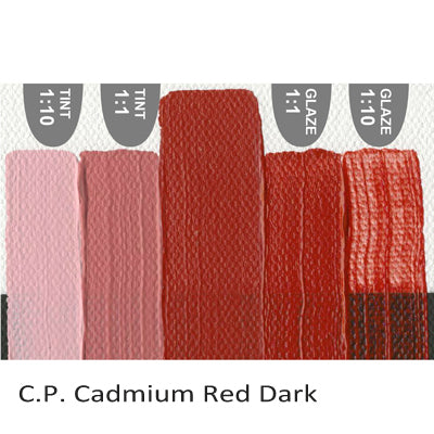 Golden Heavy Body Acrylic paint CP Cadmium Red Dark