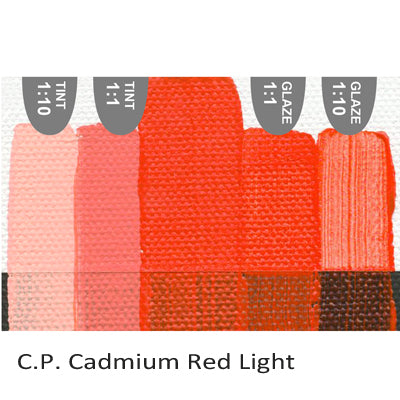 Golden Heavy Body Acrylic paint CP Cadmium Red Light