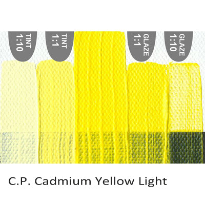 Golden Heavy Body Acrylic paint CP Cadmium Yellow Light